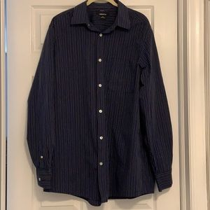 Men's Claiborne long sleeve shirt size LT